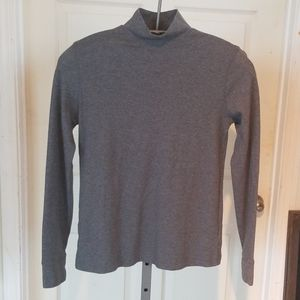 LANDS END GRAY TOP